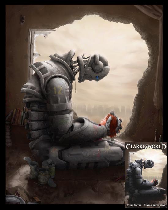 Illustration for Clarkesworld Magazine #40 - Finallist for Best Magazine Cover, Chesley Award 2011